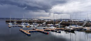 Tayport Harbour by Jan Rooney