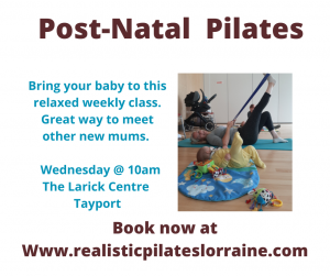 Realistic Pilates With Lorraine @ Otter Room
