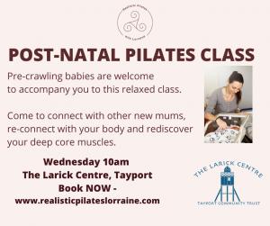 Post-Natal Pilates @ Otter Room