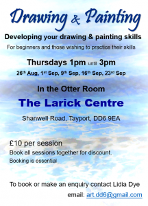Art Session -drawing & painting @ Otter Room