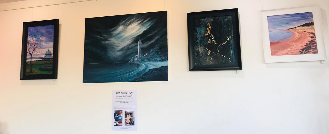 Harbour Cafe - Local Artists - 2