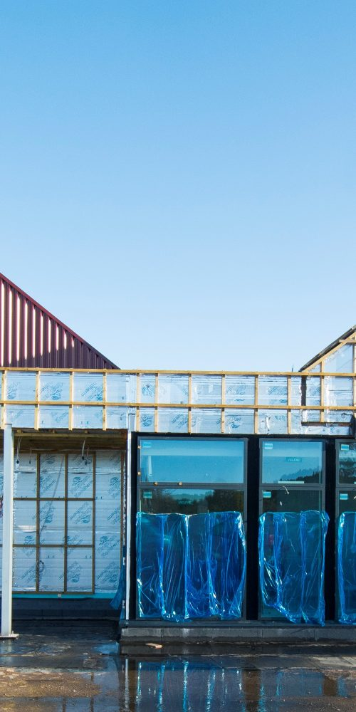 newbuilt Larick Centre